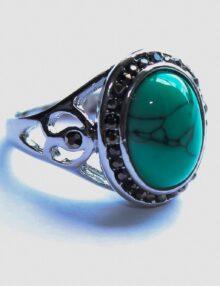 Tibetian Silver Firoza Ring
