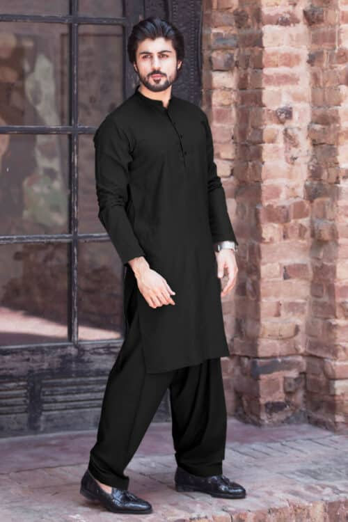 Black Kurta Muharram Shia Men